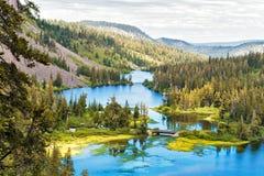 Δίδυμες λίμνες Στοκ φωτογραφία με δικαίωμα ελεύθερης χρήσης