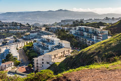 Δίδυμες αιχμές, Σαν Φρανσίσκο, Καλιφόρνια, ΗΠΑ Στοκ εικόνες με δικαίωμα ελεύθερης χρήσης
