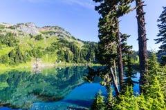Δίδυμη λίμνη στοκ φωτογραφία