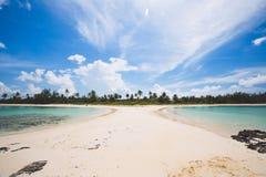 Δίδυμη παραλία αδελφών Στοκ φωτογραφία με δικαίωμα ελεύθερης χρήσης