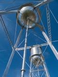 Δίδυμοι πύργοι νερού στοκ φωτογραφία