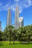 Δίδυμοι πύργοι Suria KLCC Petronas - 004 Στοκ Εικόνες