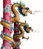 Δίδυμος κινεζικός δράκος στοκ φωτογραφία