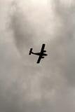 Δίδυμου κινητήρα αεροπλάνο Στοκ Φωτογραφία