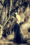 Δαίμονας σε ένα δάσος Στοκ Φωτογραφία