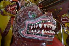 Δαίμονας σε Wat Phra Mahathat στοκ εικόνες