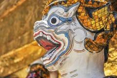 Δαίμονας του μεγάλου παλατιού Μπανγκόκ Wat Phrakaew στοκ εικόνα