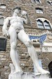 Δαβίδ Michelangelo Στοκ φωτογραφία με δικαίωμα ελεύθερης χρήσης