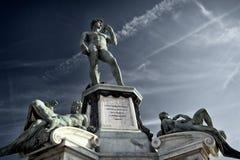 Δαβίδ της Φλωρεντίας Στοκ εικόνες με δικαίωμα ελεύθερης χρήσης