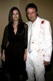Δαβίδ Arquette και Courteney COX Στοκ Εικόνες