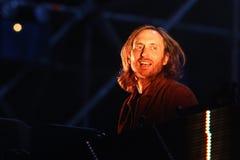 Δαβίδ Guetta του γαλλικού DJ στοκ φωτογραφία με δικαίωμα ελεύθερης χρήσης