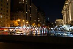Δαβίδ H Koch Plaza από τη Πέμπτη Λεωφόρος Στοκ εικόνα με δικαίωμα ελεύθερης χρήσης
