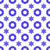 Δαβίδ Star Seamless Background Σύμβολο της θρησκείας Στοκ εικόνες με δικαίωμα ελεύθερης χρήσης