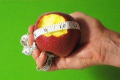 Δαγκωμένη διατροφή Apple Στοκ φωτογραφίες με δικαίωμα ελεύθερης χρήσης