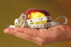 Δαγκωμένη διατροφή Apple Στοκ εικόνες με δικαίωμα ελεύθερης χρήσης