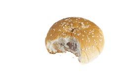 Δαγκωμένο ψωμί Στοκ φωτογραφία με δικαίωμα ελεύθερης χρήσης