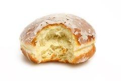 δαγκωμένο doughnut Στοκ φωτογραφίες με δικαίωμα ελεύθερης χρήσης