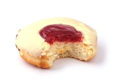 δαγκωμένο doughnut Στοκ Φωτογραφία