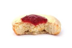δαγκωμένο doughnut Στοκ εικόνες με δικαίωμα ελεύθερης χρήσης
