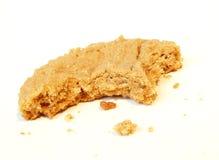 δαγκώστε crumbs μπισκότων Στοκ εικόνα με δικαίωμα ελεύθερης χρήσης