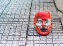 Δαιμονική κούκλα Satan μανεκέν Στοκ φωτογραφία με δικαίωμα ελεύθερης χρήσης