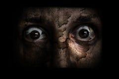 Δαιμονικό άσχημο πρόσωπο στοκ εικόνα με δικαίωμα ελεύθερης χρήσης