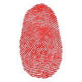 δακτυλικά αποτυπώματα Στοκ εικόνα με δικαίωμα ελεύθερης χρήσης