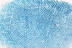 δακτυλικό αποτύπωμα ανα&sigm Στοκ φωτογραφία με δικαίωμα ελεύθερης χρήσης