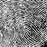 δακτυλικό αποτύπωμα ενι&alp Στοκ εικόνα με δικαίωμα ελεύθερης χρήσης