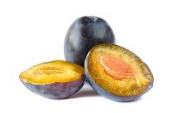 Δαμάσκηνα. φρούτα Στοκ Εικόνες