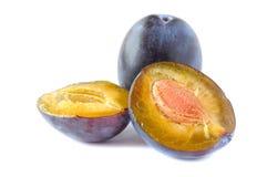 Δαμάσκηνα. φρούτα Στοκ φωτογραφίες με δικαίωμα ελεύθερης χρήσης