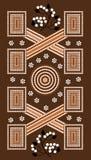 δαμάσκηνο ζωγραφικής σημείων θάμνων Στοκ εικόνα με δικαίωμα ελεύθερης χρήσης