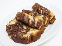 δαμάσκηνο κέικ που διαφ&omicro Στοκ Εικόνες
