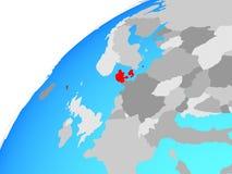 Δανία στη σφαίρα ελεύθερη απεικόνιση δικαιώματος