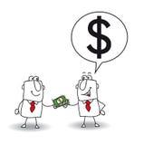 Δανείστε τα χρήματα ελεύθερη απεικόνιση δικαιώματος