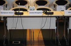 ΔΑΝΙΑ HOSTS_CONFEENCE ΤΟΥ ΣΥΜΒΟΥΛΊΟΥ ΤΗΣ ΕΥΡΏΠΗΣ Στοκ φωτογραφία με δικαίωμα ελεύθερης χρήσης