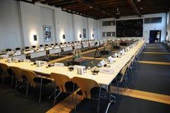 ΔΑΝΙΑ HOSTS_CONFEENCE ΤΟΥ ΣΥΜΒΟΥΛΊΟΥ ΤΗΣ ΕΥΡΏΠΗΣ Στοκ εικόνες με δικαίωμα ελεύθερης χρήσης
