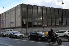 ΔΑΝΙΑ ` S NATIONAL BANK στοκ εικόνες