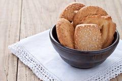 Δανικά βουτύρου μπισκότα Στοκ φωτογραφίες με δικαίωμα ελεύθερης χρήσης