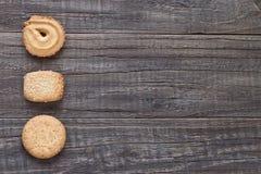 Δανικά βουτύρου μπισκότα Στοκ Εικόνες