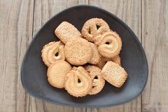 Δανικά βουτύρου μπισκότα Στοκ Εικόνα