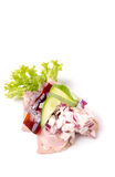 Δανικές ειδικότητες και εθνικά πιάτα, υψηλής ποιότητας ανοικτό σάντουιτς Στοκ φωτογραφία με δικαίωμα ελεύθερης χρήσης