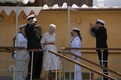 Δανική βασίλισσα στοκ εικόνα