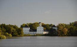 Δανική βασιλική θερινή κατοικία Στοκ εικόνα με δικαίωμα ελεύθερης χρήσης