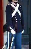 Δανική βασιλική φρουρά ζωής στην Κοπεγχάγη, Δανία Στοκ Φωτογραφία