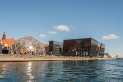 Δανική εθνική βιβλιοθήκη Στοκ φωτογραφία με δικαίωμα ελεύθερης χρήσης