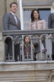 δανική οικογένεια βασιλική Στοκ Εικόνα