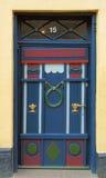 δανική πόρτα Στοκ Φωτογραφίες