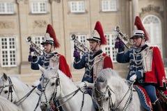 δανική φρουρά βασιλική Στοκ Φωτογραφίες