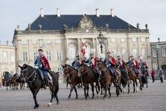 δανική φρουρά βασιλική Στοκ Εικόνα